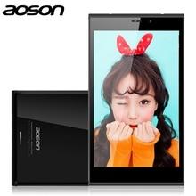 Doble-Lado M706T 7 pulgadas 3G Tableta de la Llamada de Teléfono de Aoson Quad Core MTK8382 Dual 2.0MP Cámara Dual Sim Android 4.4 3G Tablet