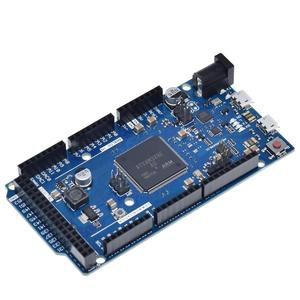 Image 3 - Offizielle Kompatibel DURCH R3 Bord SAM3X8E 32 bit ARM Cortex M3 / Mega2560 R3 Duemilanove 2013 Für Arduino Due Bord mit Kabel