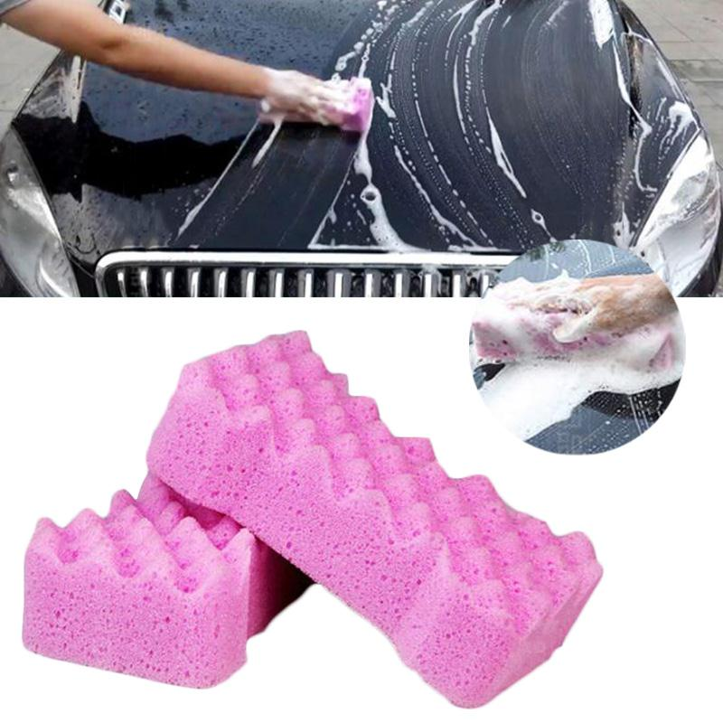 Honeycomb Style Car Cleaning Washing Sponge Auto Care Maintenance Tool Home
