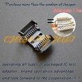 300mil SOP16 SOIC16 test socket (Back pin SMD) IC socket Clamshell Adapter socket =SOK-SPI-16W(G6179-07000001) SMT test socket