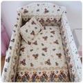 Promoción! 6 unids globo camas cuna bebé cuna Netting juego de cama Set para recién nacido, incluyen ( bumpers + hojas + almohada cubre )