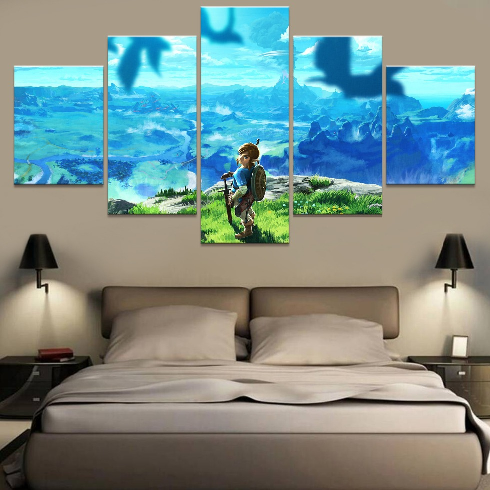 HD Printed Canvas Poster Frame Home Decor Living Room Wall
