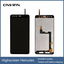Tested well 5″ lcd For highscreen Hercules LCD Screen Display with Touch screen Digitizer Assembly