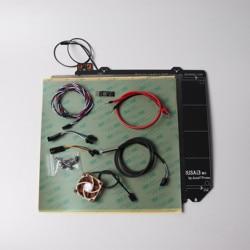 Zestaw do modernizacji Prusa i3 mk2/mk2s do MK2.5 z podgrzewanym łóżkiem MK52 12 V  wentylatorem Noctua  sondą PINDA V2 Prusa i3 mk2.5 zestaw do podgrzewania w Części i akcesoria do drukarek 3D od Komputer i biuro na