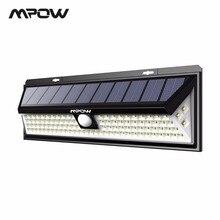 Mpow CD126 супер яркий светодио дный 102 светодиодный солнечный свет водостойкий открытый сад безопасные огни лампы с движения Senor 3 регулируемые модели