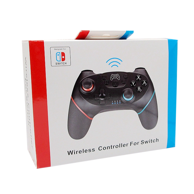 NS-Switch Pro NS Pro Wireless Gamepad - Joysticks Controller with 6-Axis Handle 6