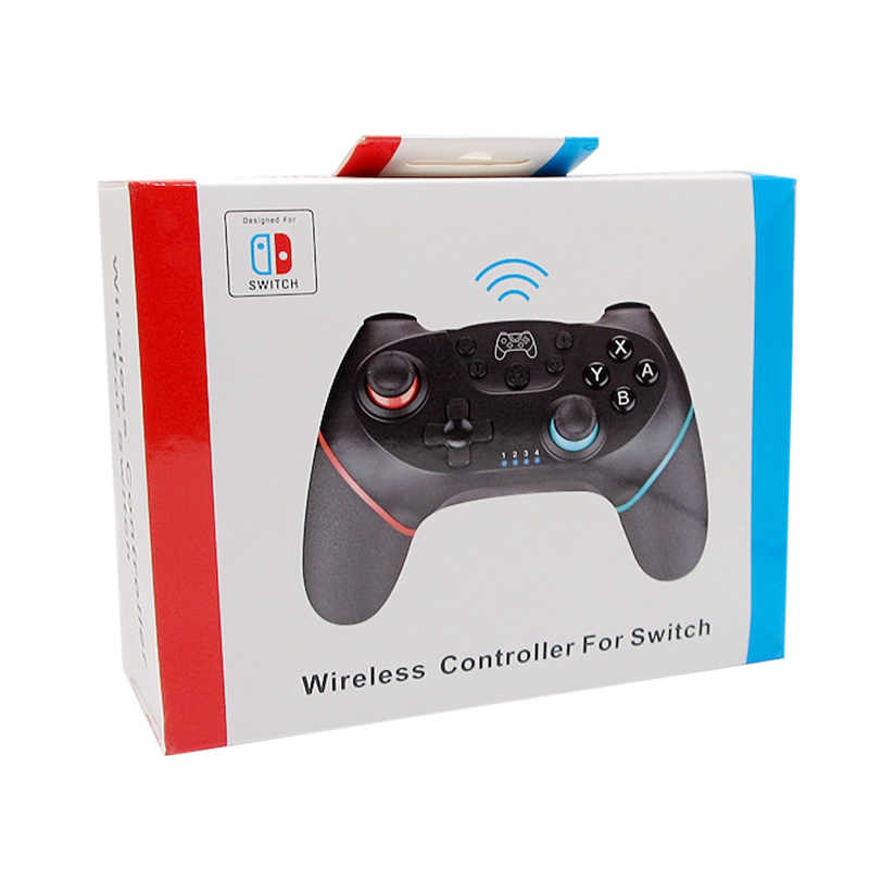 2020 dla, których części N-końcowe przełącznika Pro przełącznika NS Pro NS Pro Gamepad bezprzewodowy Gamepad bluetooth joysticki do gier kontroler z 6-uchwyt osi