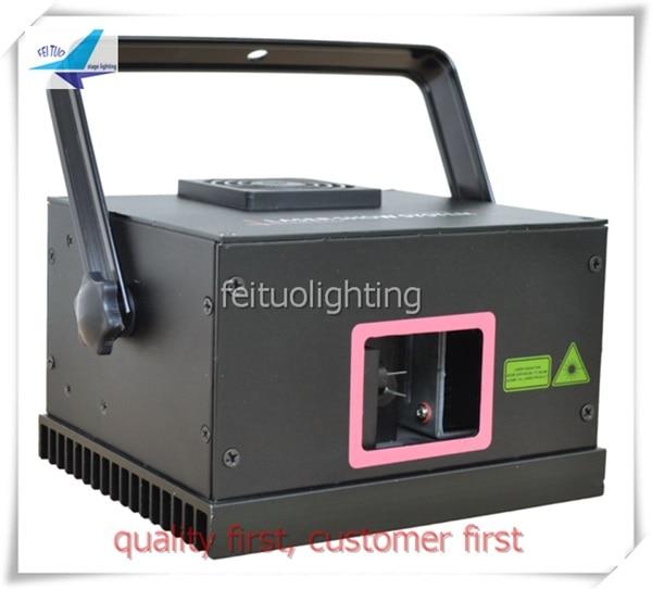 Mini Power Disco 500mw RGB Full Color Animation Laser Light Laser Projetor Cartoon Pattern Dmx Laser Show System For Dj Party
