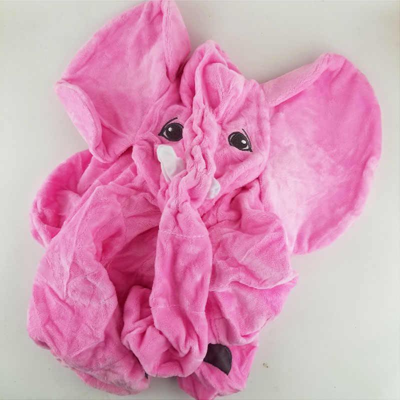 60 cm gri Dev Fil peluş oyuncak Cilt Yumuşak Oyuncak cilt Bebek Çocuk bebek Yastıklar olmadan dolması