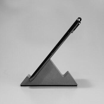 Бетонная форма контейнера, мобильный телефон Подставка в виде фигурок, простой и креативный дизайн силиконовой формы для крепления мобильн...