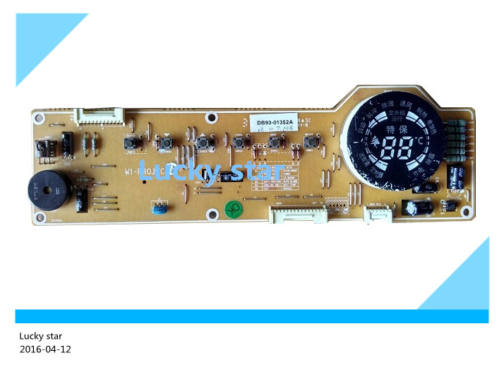 95% new for Air conditioning display board DB93-01352A good working 95% new for air conditioning display board db93 01352a good working