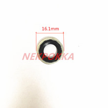 Darmowa wysyłka uszczelka klimatyzacji V5 AVEO uszczelka 10 sztuk klimatyzator zawór rozprężny uszczelka uszczelka podkładki tanie tanio NEKPOKKA rubber Klimatyzacja montaż 0 15kg seal gasket Iso9001