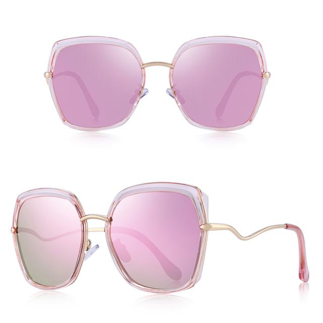 Gafas de sol polarizadas con diseño de ojo de gato UV400