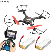 High Quality JJRC Upgrade V686 5 8G FPV Headless Mode RC Quadcopter 2PC 800mah Battery wholesale