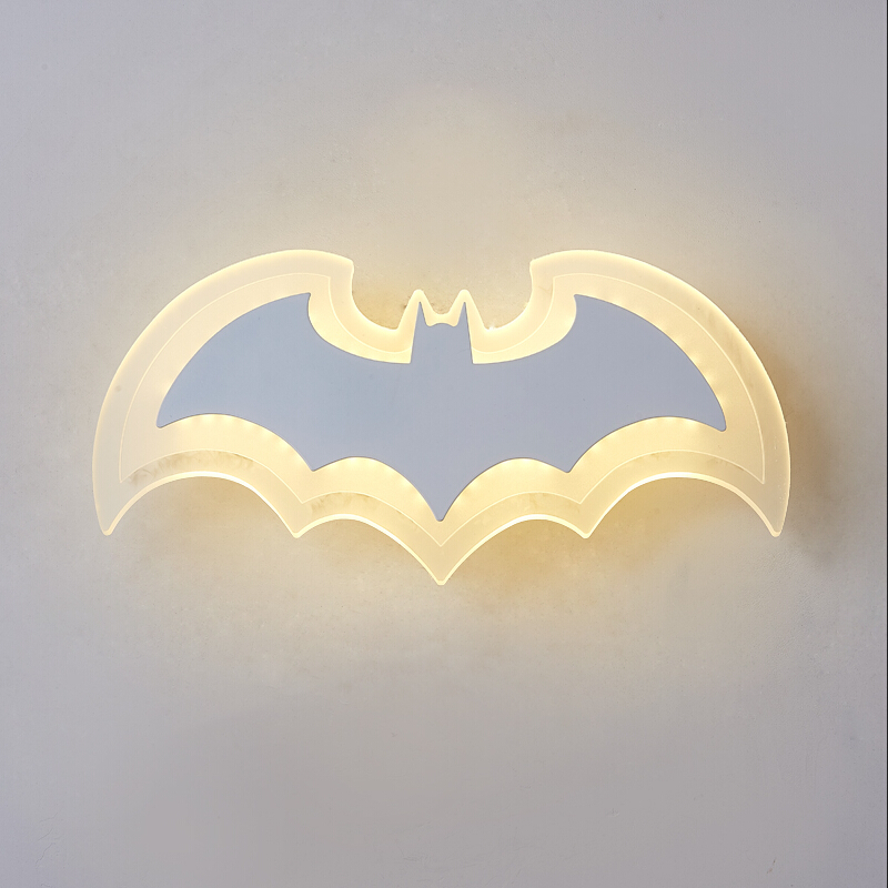 bat criativas lampadas de parede sala 01