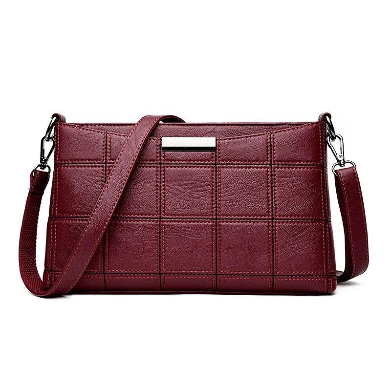 Bolso de las mujeres bolsos de mano de cuero para mujer de hombro bolsas de asa
