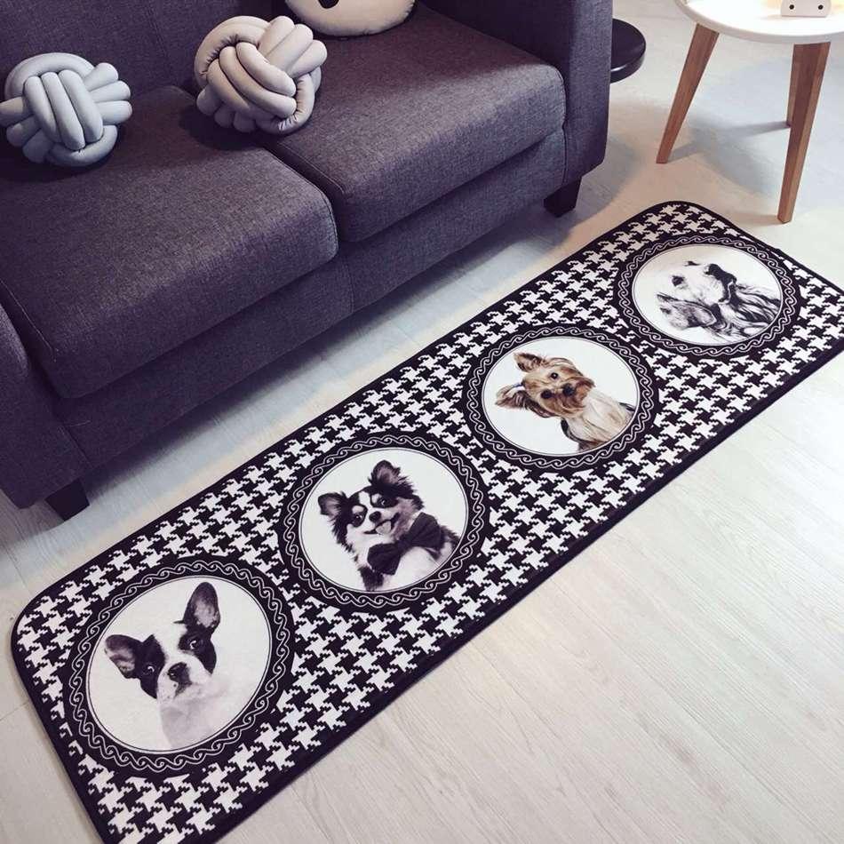 50x150 Cm Wohnzimmer Teppiche Hunde Fr Moderne Stil Tapete Para Quarto Teppich Kinderzimmer