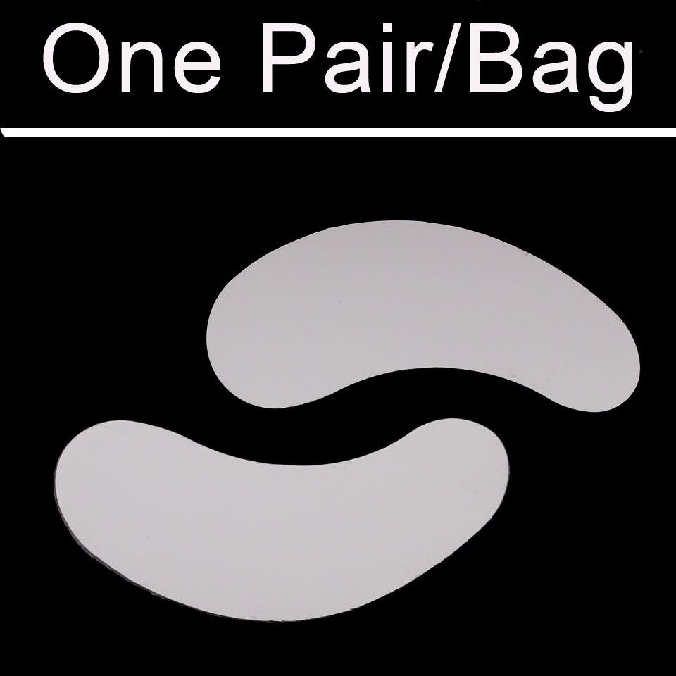 100 Pairs/Bag Eye Pad for Eyelashes Extension Silk Korea Material Eye Gel Pad Makeup Eye Patch for Eyelash Extension Lint Free