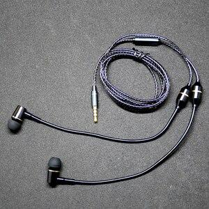 Image 4 - למעלה אנטי קרינה ב אוזן אוזניות אוויר צינור אקוסטית אוזניות מוסיקת סטריאו 3.5mm מיקרופון אוזניות הפחתת רעש לxiaomi iphone