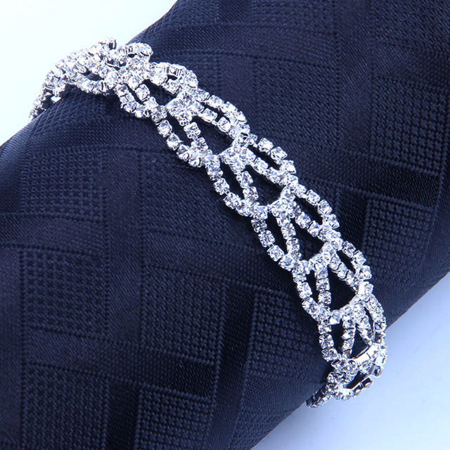 StoneFans Bracelet Zircon...