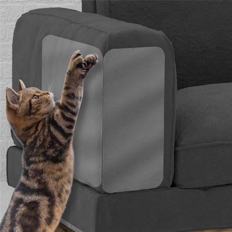 2pcs Set Pet Cat Large Scratch Guard Mat Cat Scratching