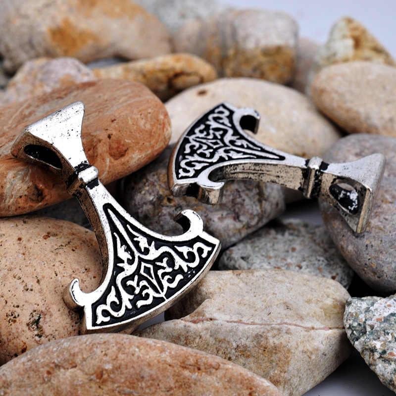 W stylu vintage Axe wisiorek słowiański amulet Norse Viking biżuteria etniczna replika dorp wysyłka 1 pc