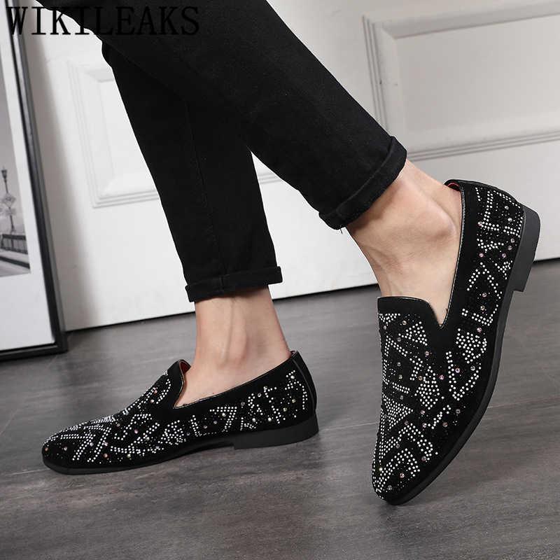 งานแต่งงานรองเท้าผู้ชายรองเท้าผู้ชายรองเท้าคลาสสิกรองเท้า elegant รองเท้าผู้ชาย party coiffeur ขนาดใหญ่ sepatu slip on pria erkek ayakkabı