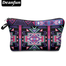 Deanfun 2017 3D Printing Large Cosmetic Bag Fashion Women Brand H1