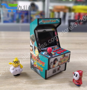 DHL 10 PCS New 16 bit arcade video game console support AV out built in 156 games for sega