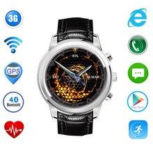"""Android 4.4 Schrittzähler Herzfrequenz SmartWatch X5 Bluetooth WiFi GPS 1,4 """"Amoled-display 3G Smart Uhr für iOS Android Smartphone"""