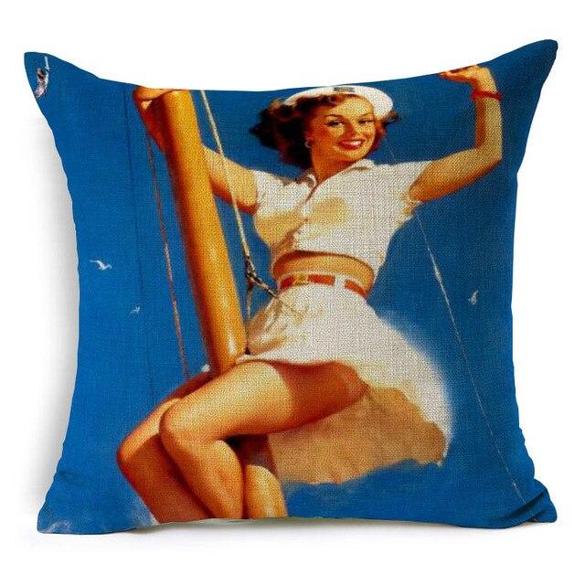 Fashion Lady Scandinavian Cushion Cover 3