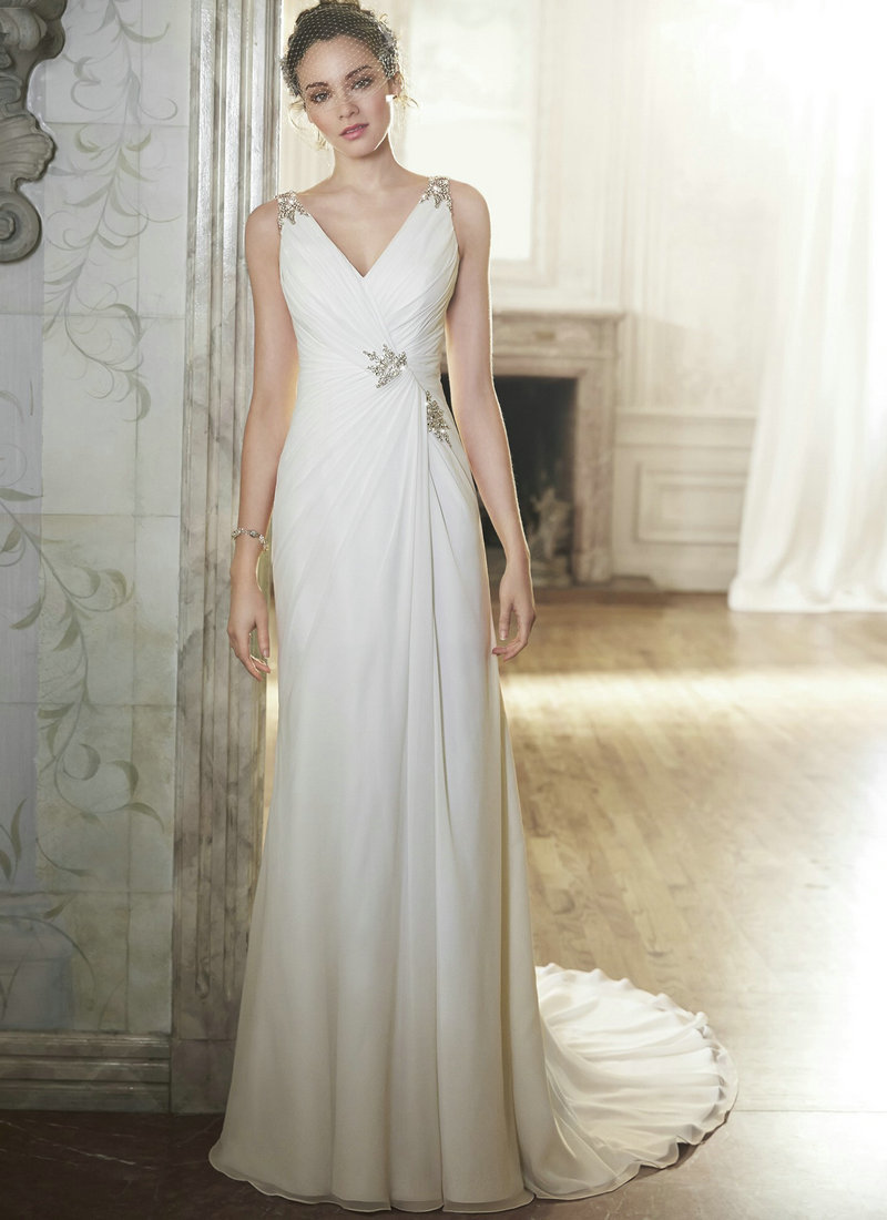 Aliexpress.com : Buy White Chiffon Dress Sleeveless Open Back ...