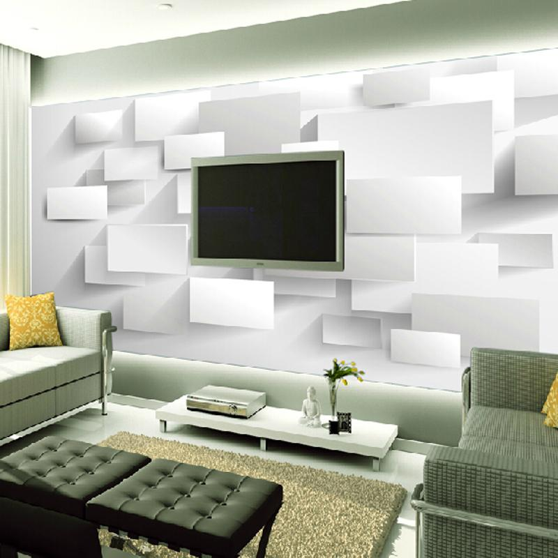 Great wall 3D large wall murals for living room Three dimensional ...