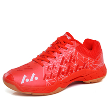 2017 New Badminton Shoes For Men Breathable Indoor Sport Shoes Lightweight Tenis Badminton Sneakers Blue Green Mens Trainers