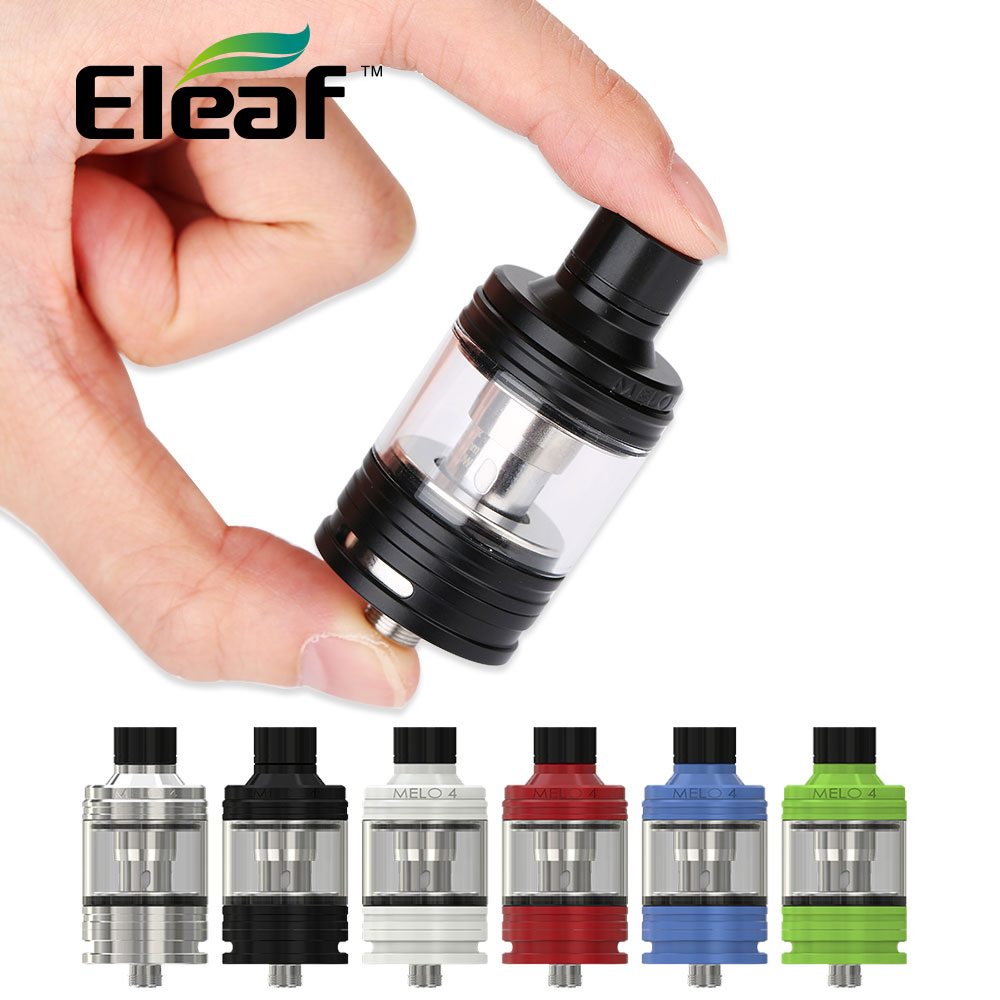 Original Eleaf Melo 4 Atomizer 2ml D22 22mm & 4.5ml D25 25mm Tank EC2 Coil Fit Eleaf iKuun I200 MOD Vape Tank vs Cubis pro