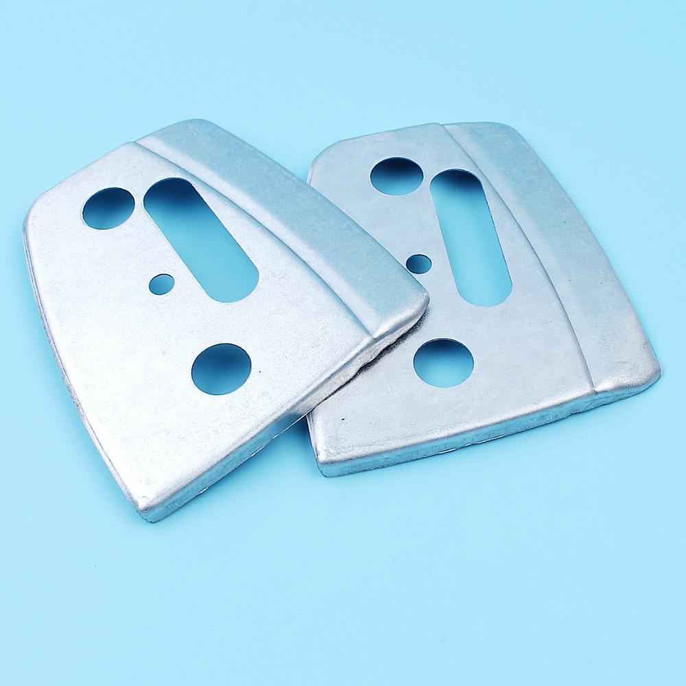 2Pc Bar Plate For Jonsered 2141 2145 2149 2150 2159 CS2141 CS2145 CS2147 CS2150 CS2152 CS2159 CS2156 CS2156 Chain Saw #503856601