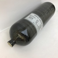 Competitive Price 6 8L 4500psi 30Mpa Composite Carbon Fiber Cylinder SCUBA Tank Compressed Air Cylinders For