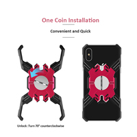 Shockproof Hero Theme Metal Phone Case For iPhone X Case For iPhone Xs Max 8 7 6s Plus Bracket Phone Case Cover