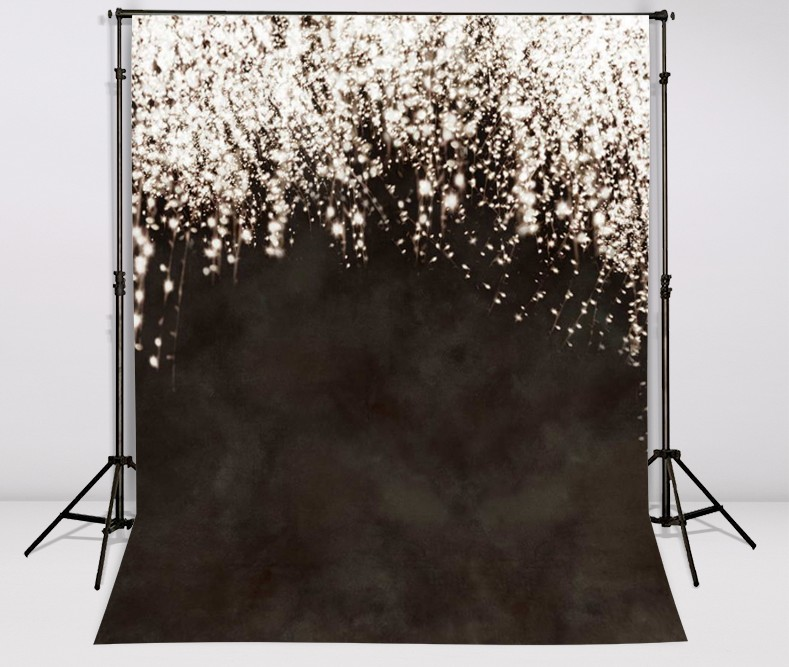 Black Dim Star Fireworks Photography Backgrounds Vinyl cloth High quality Computer printed wedding photo backdrop red chinese window photography backgrounds wedding backdrop lighting photo studio vinyl cloth computer printed canvas props