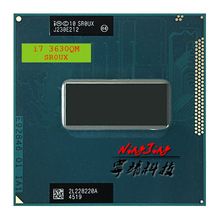 Intel Core i7-3630QM i7 3630QM SR0UX 2.4 GHz Quad-Core a Otto Thread di CPU Processore 6M 45W presa G2/rPGA988B