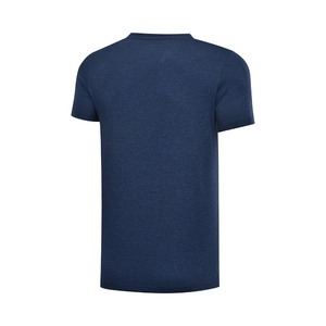 Image 2 - Li ning גברים אימון תרגיל חולצות 100% פוליאסטר לנשימה רגיל Fit רירית לי נינג ספורט טי חולצות AHSP041 MTS3091