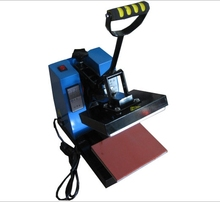 manual label heat press machine for shoes/small photo/mark