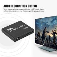 Mini HD 1080P Media Player BOX USB Media Box With HDMI AV MMC MKV AVI MOV MP4 N.23