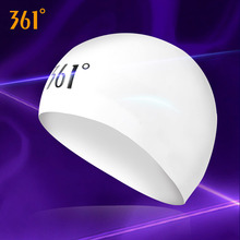 361 Mans Swim Caps Women Swimming Professional Pools Hat Waterproof for Long Hair Ear Protection