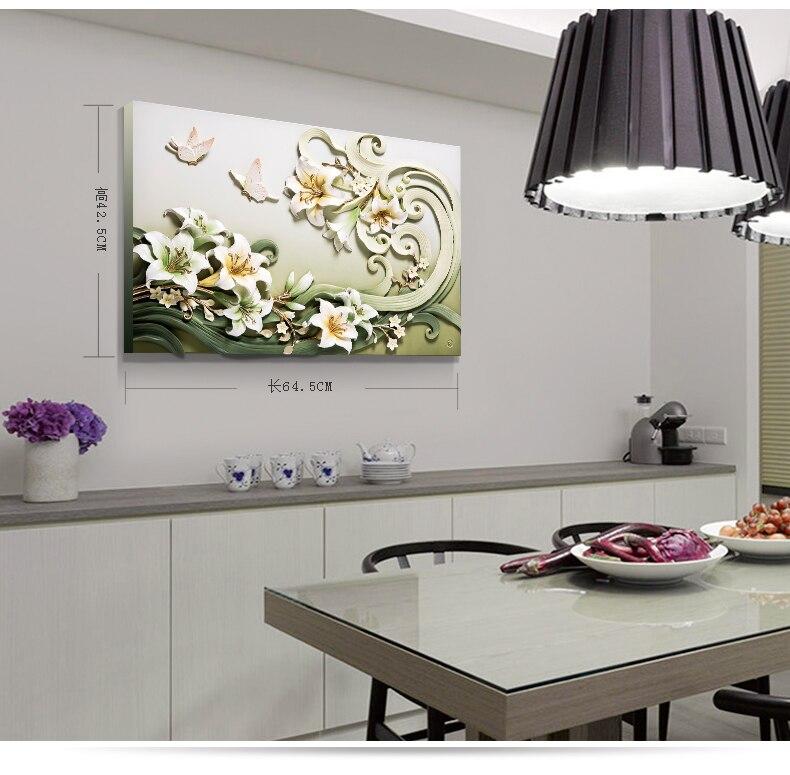 Фу резные современный 3D трехмерный рельеф ресторан живопись, живопись, гостиная украшения, фон, настенная живопись