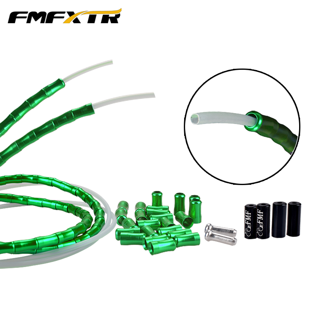 Aluminum Alloy Joint Wire Tube Fittings Mountain Bike Brake Fish Bone Wire Tube Protective Sleeve Road Wire Tube Set