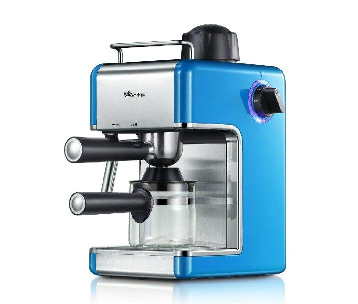 220V Coffee Maker Espresso Machine High Quality Home Appliances 0.24l