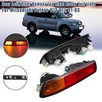 Rear Lights Fog Lamp Rear Bumper Reflector Stop Lamp 2001 2002 2003 For Mitsubishi Pajero V73 V75 MONTERO Tail Light Stop Lamp