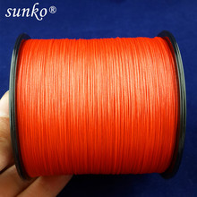 8stands 300M SUNKO Brand Strong Japanese Multifilament PE Material Braided Fishing Line 18 30 40 50 60 70 80 100 120 140 160LB