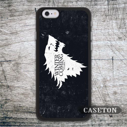 White Wolf House Stark Case For iPhone